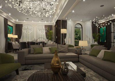 Shumen Livingroom interior