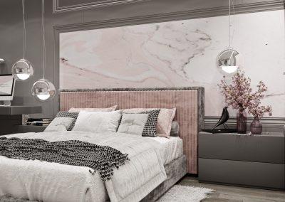 Bedroom in Grey