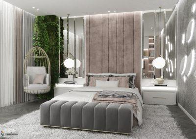 Beautiful Pink Room