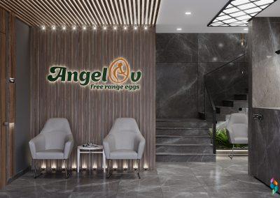 ANGELOV free range eggs Peshtera Office Building