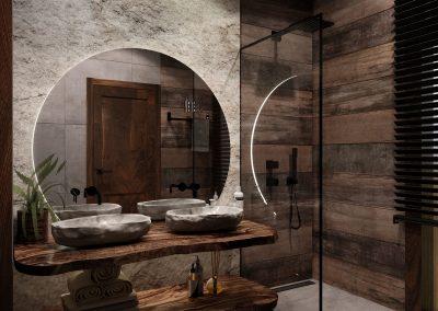 Mountain House/Bathrooms