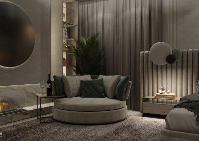 Modern stylish and cozy