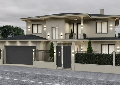 House Exterior & Landscape