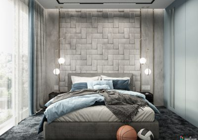 Amazing room for a boy