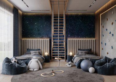Amazing room for boys