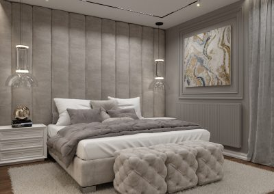 Stylish bedroom Varna