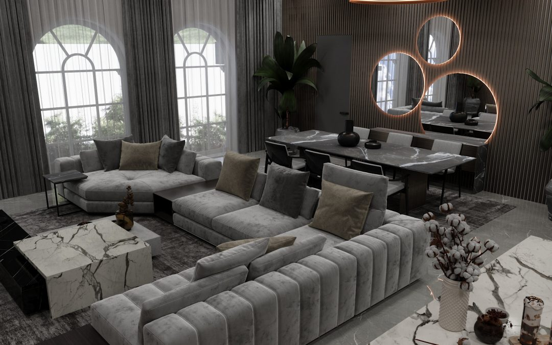 House Markovo/Living Room and Kitchen Area