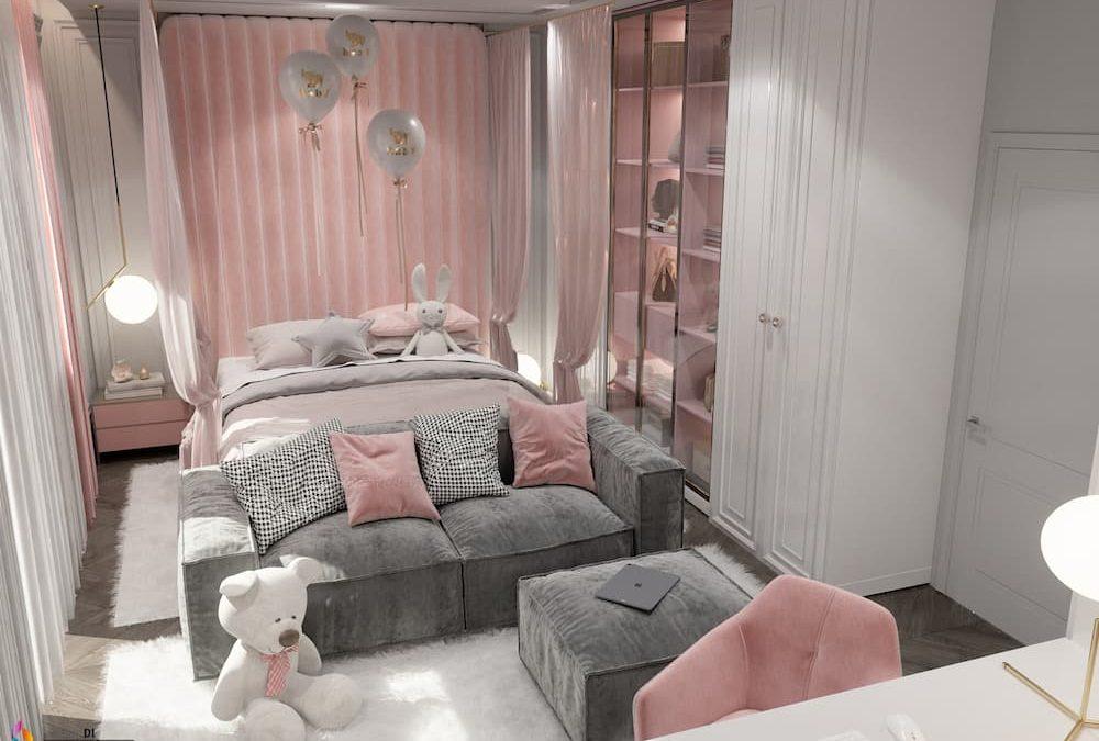 Kid room in Pink